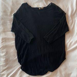 Moth brand black knit top